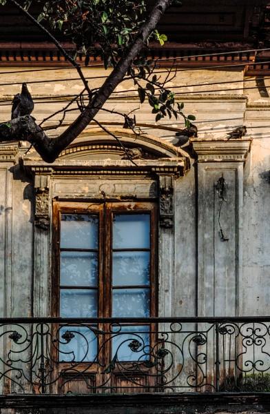 Old Balcony by Potra