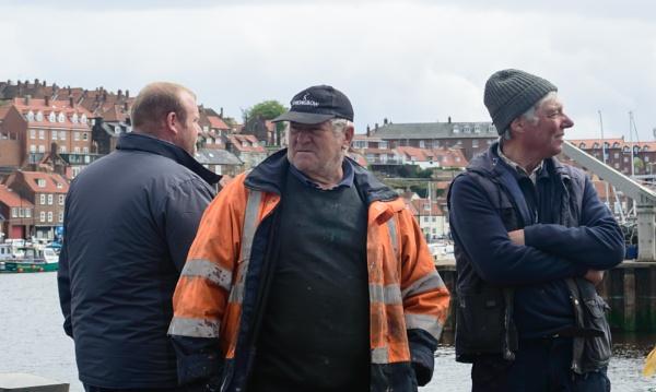 Whitby fishermen by cegidfa