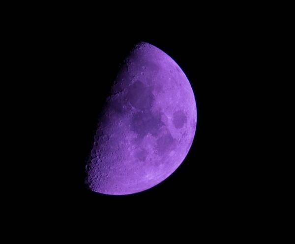 Purple Moon by Phantom7