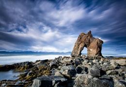 Bakkastakkur rock arch