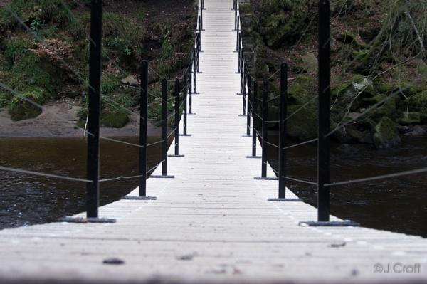 Suspension Bridge by JMCroft