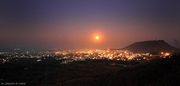 A full-moon night by drjskatre