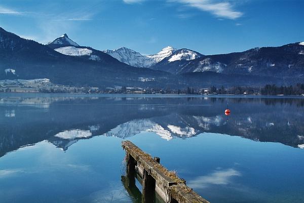 Cool Waters Of The Wolfgangsee by headskiesfly