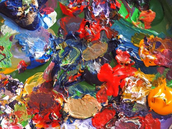 Palette by victorburnside