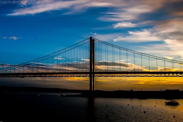 Forth Road Bridge by LGHSTF