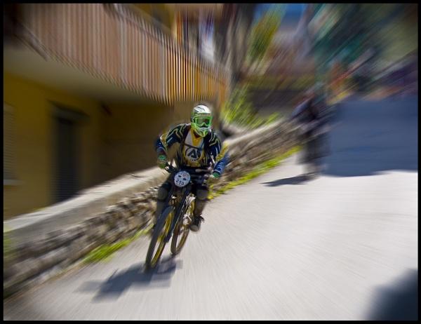 Mountain biking at Les 2 Alpes. by Billies