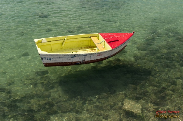 Colourful boat by IainHamer