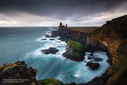 The sea stacks of Londrangar