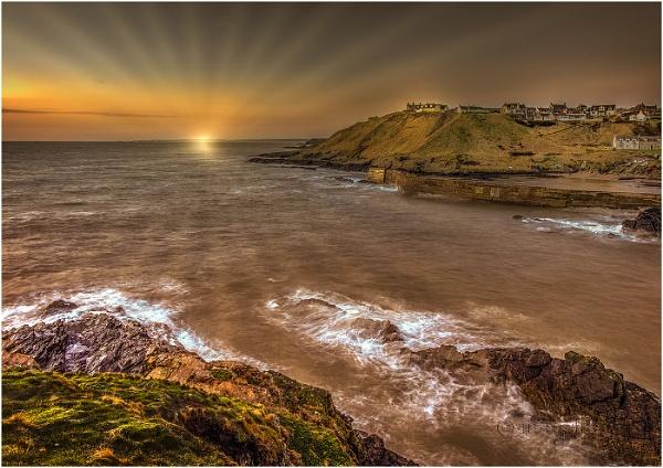 Collieston Dawn by Mstphoto