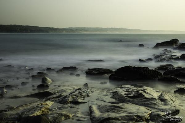 Godrevy Beach at Dusk by sunsetskydancer