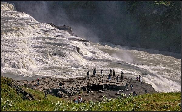 Gullfoss Falls, Iceland by fentiger