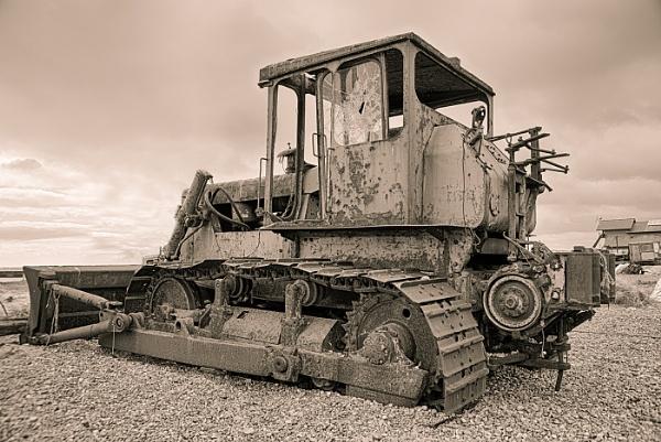 Hasting\'s Tractor by jumbozine
