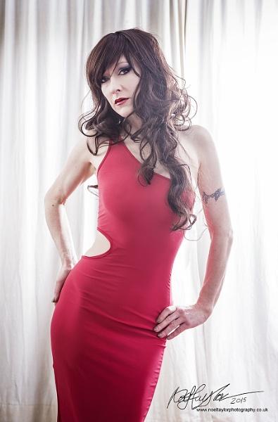 Shanea in a Red Dress #001 by bunni_boi