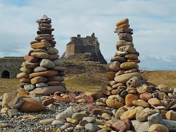 lindisfarne castle by Bullyuk123