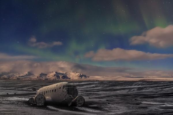 Old plane wreck by SueLeonard