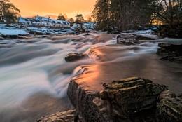 The falls of Dochard
