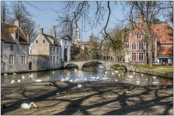 Wijngaardplein, Bruges by TrevBatWCC
