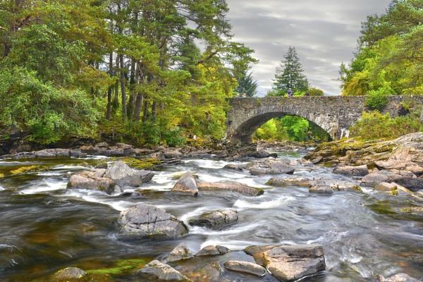 The Falls Of Dochart by wulsy