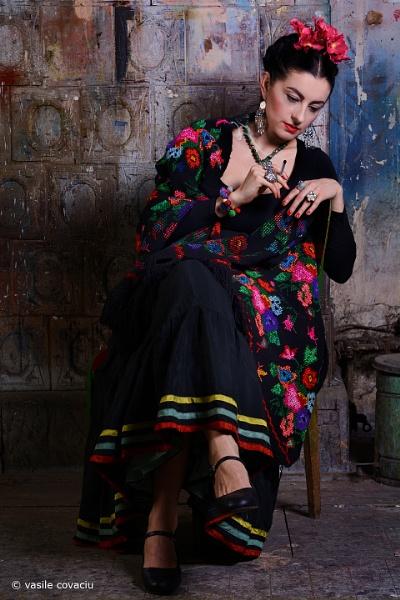 Frida Kahlo by vasile_covaciu