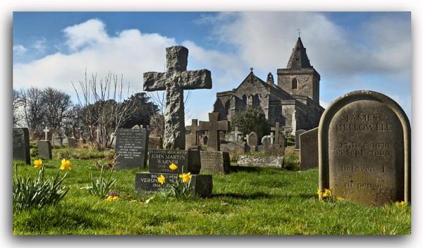 Spring in the churchyard by YorkshireSam