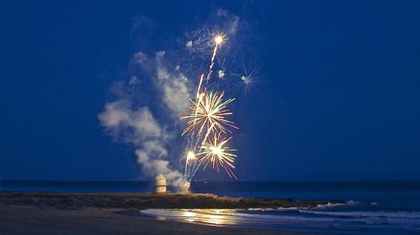 Fireworks by milky