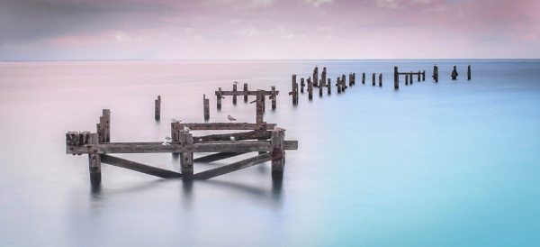 Swanage old pier by Jazzyjack