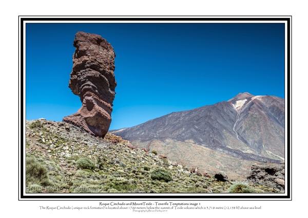 Roque Cinchando and Mount Teide by MunroWalker
