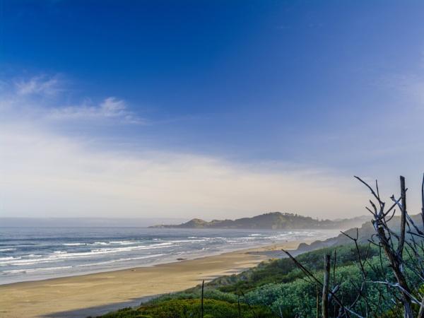 Nye Beach, Newport, Oregon by destair