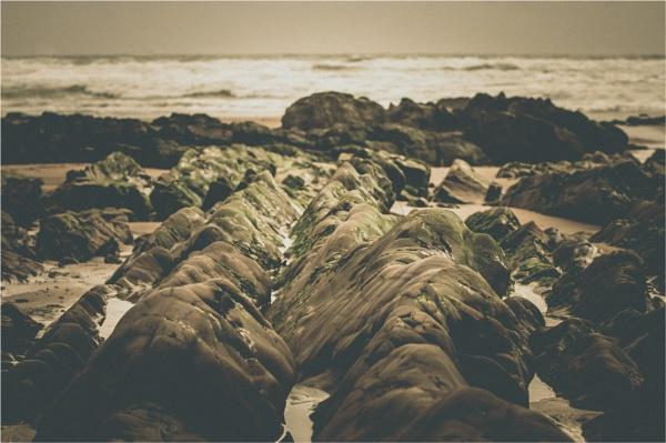 Beach Rocks by Hoffy