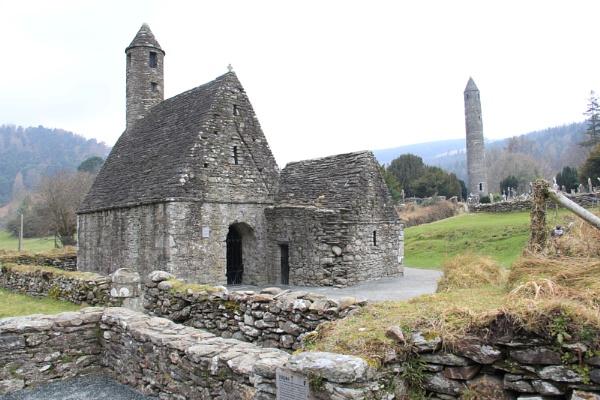 6th century monastic settlement, Glendalough, Ireland (c) Jim Leggett by photowriterjim