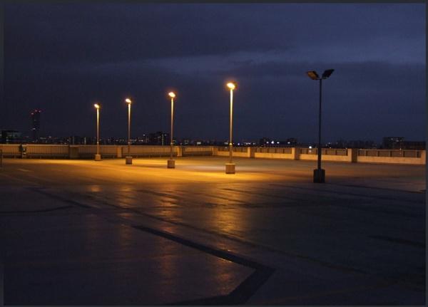 empty cark park by mrtower