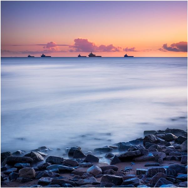 Sunrise, Aberdeen Beach by Mstphoto