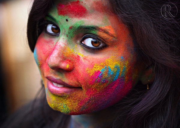 Festival Colors by Rudra