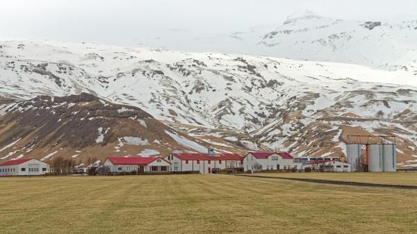 Farm at the bottom of a glacier by pdunstan_Greymoon