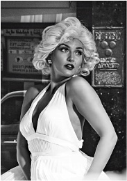 Marilyn Monroe at the NEC