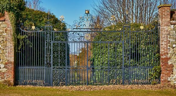Ornamental Gate by JJGEE