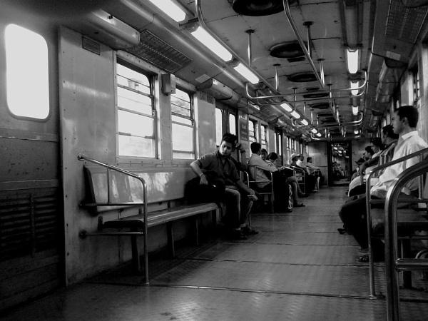Inside _Metro Railway of Calcutta by suvarc