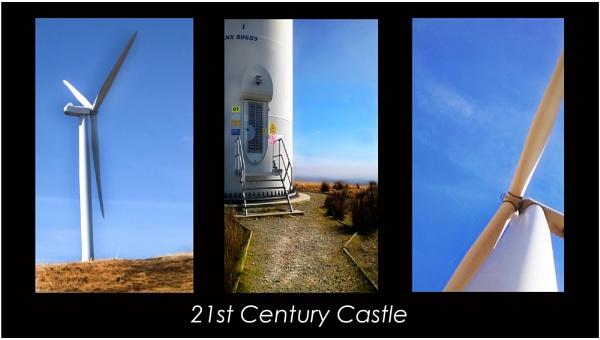 21st century castle by jimmymack