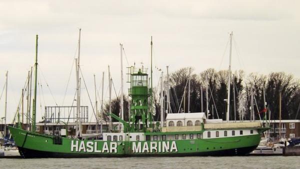 Lightship at Hasler Marina by paulb2433