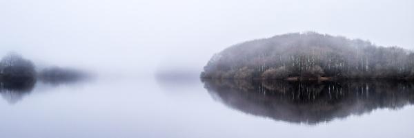 Misty morning Rivington by bouic