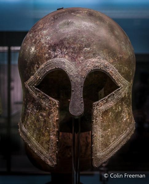 Corinthian helmet by cfreeman