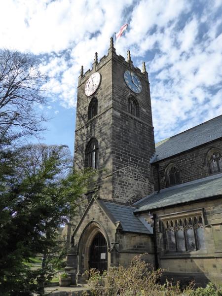 Haworth Parish Church by soundlevel