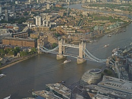 The view from The Shard: by day.