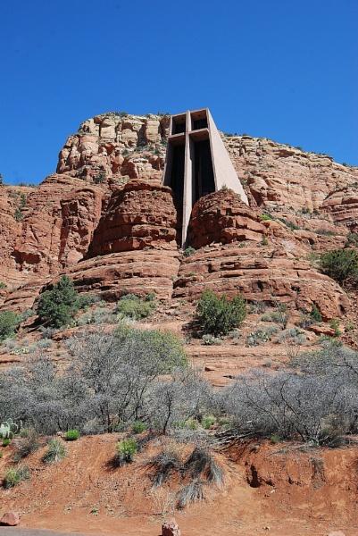 Chapel of The Holy Cross Sedona Arizona by jimbob133