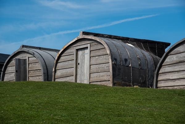 Lindisfarne Sheds by StuartAt