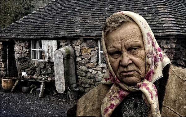 Old Lady by dven