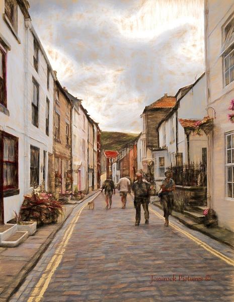 Henrietta Street Whitby by jonirock