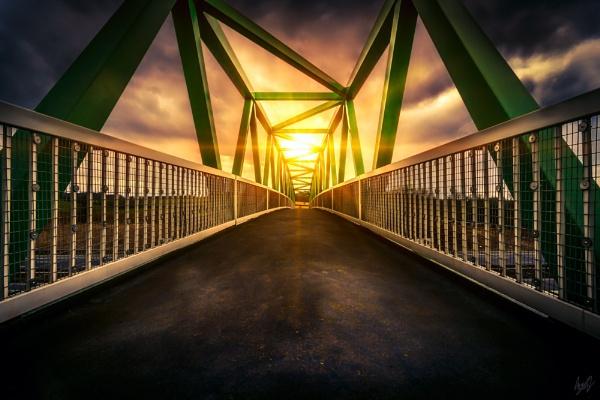 Sun Bridge by kyleparr