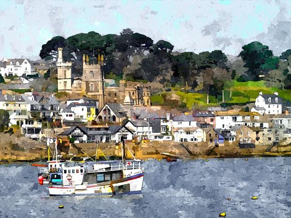 Fowey Cornwall by daveupton