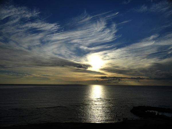 Sunset Swirls by SteveBaz